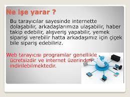 İnternet Tarayıcı Programlar - ppt indir
