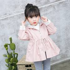 sunsee baby girls trench coat jacket b0769n7x43
