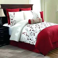 black and white bedding sets red and white bedding set new bed bag queen king 5