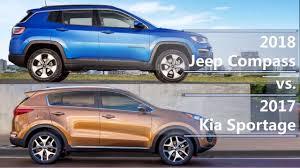 2018 kia jeep. exellent jeep 2018 jeep compass vs 2017 kia sportage technical comparison for kia jeep i