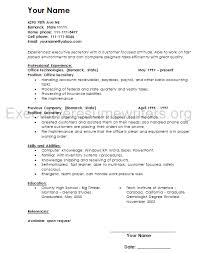 executive secretary resume berathen com