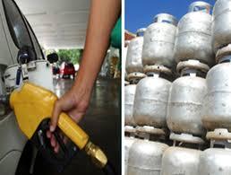 Resultado de imagem para gasolina e botijão de gas