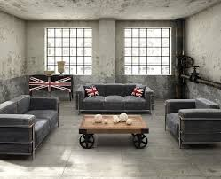 industrial design furniture. Industrial Design Furniture Living Room Eclectic With Loft S