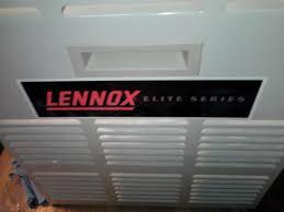 lennox elite. 1995 lennox elite series. burner compartment cover
