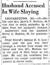 Death of Myrtle Hudson - Newspapers.com