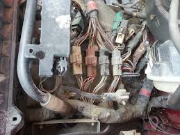 ford trucks com stand alone wiring harness 6.0 powerstroke the engine harness must be removed in it's entirety from the donor vehicle the harness routes from the lh firewall, where a circular connector passes