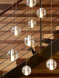 modern stairwell lighting. pendant lights over stairs modern stairwell lighting e