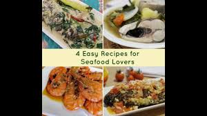 4 Easy Filipino Recipes for Seafood ...