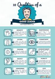 qualities of a good leader every filipino should know the qualities of a good leader below leader