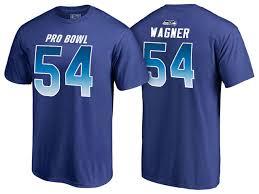 Pro 2018 54 Royal Bobby Nfc Bowl Seahawks Wagner T-shirt