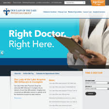 My Medical Chart Olol Ololphysiciangroup Com At Wi Our Lady Of The Lake Regional