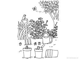 Vegetable Garden Coloring Pages - FunyColoring
