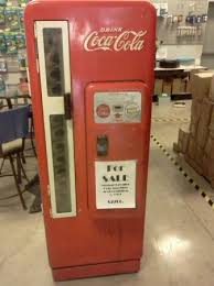 Craigslist Vending Machines Delectable Vintage Cavalier Coke Machine 48 Craigslist Fascination