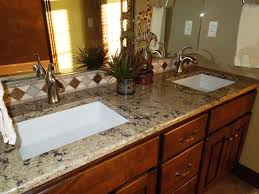 quartz bathroom countertops with sink