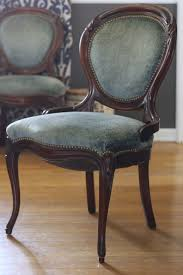 blue velvet dining chairs. Dusty Blue Velvet Chairs In Dining Room