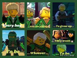Here's some Ninjago quotes I made: Ninjago