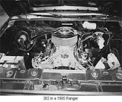 302 v8 engine diagram the ranger and bronco ii v8 engine conversion 1985 ford ranger 302 engine
