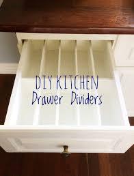 Diy Kitchen Drawer Dividers Diy Kitchen Drawer Dividers House Of Hollingsworth Blog