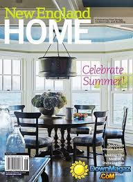 Interior Design Magazine Pdf Impressive New England Home USA JulyAugust 48 Download PDF Magazines