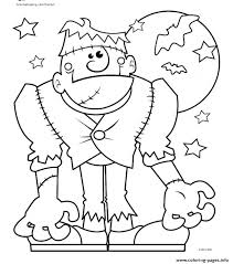 Cute Halloween Coloring Pages For Kids Spooky Halloween Coloring Pages Printable Spooky Coloring