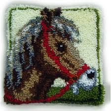 horse latch hook kit