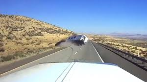 Watch This Speeding SUV Lose Control and Flip While Towing a Camper ...