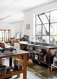 Interior design furniture minimalism industrial design Vintage Industrial Kitchen As Having Some Sort Of Magical Affect Me Although Am Not Sure One Would Fit In My Life Still Would Like To Have One In The Kitchen Homemydesigncom Cool And Minimalist Industrial Kitchen Design Home Design And Interior