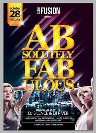 club flyer templates club flyer templates free free club fusion psd flyer template grab