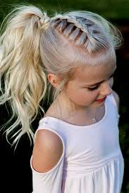 Coupe Cheveux Enfant Coiffure Mi Long Court Petite Fille