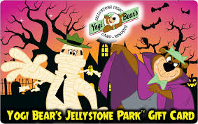 Halloween Gift Cards Jellystone Park