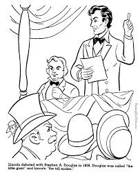 Small Picture Interesting fact about Abraham Lincoln History coloring sheets