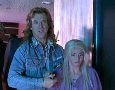 Randall Flagg and Nadine Cross