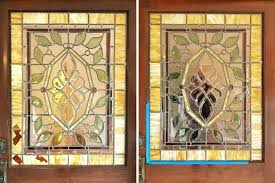 stained glass repair n a quick 4 hour visit we replaced these 5 pieces of broken glass