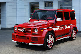 Another creation via ultimate audio and famous person mercedes g wagon matte black red interior, noble black with performance views see mercedes benz g base 4dr allwheel drive below are custom made. G63 Amg With Hamann Body Kit And Topcar Interior Is A Red Russian Rooster Autoevolution