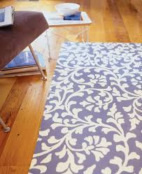 step by step how to paint a floor canvas