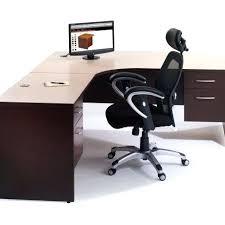 modern l shaped office desk. Fancy Desk Modern L Shaped Office Interior Design Together Black White  