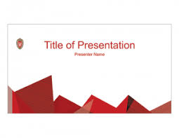 Red Ppt Powerpoint Brand And Visual Identity Uw Madison
