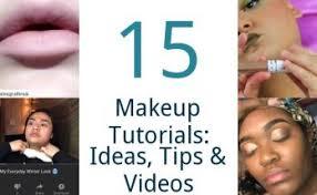 15 makeup tutorials ideas tips videos