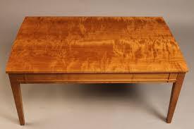 shaker coffee table dark cherry wood furn