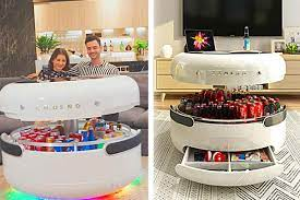 Bing shopping > coosno smart coffee table. Coosno Futuristic Coffee Table With Smart Features Thesuperboo