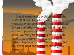 by philip henricks global warming is a problem around the world  2 global warming is a problem around