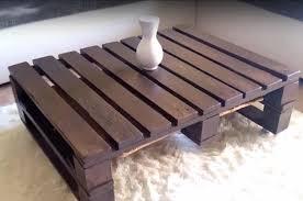 simple wood pallet coffee table diy