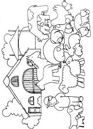 Farm Coloring Pages For Preschool Animal Coloring Pages Preschool
