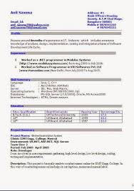 Excellent Cv Good Resume Title Download Free Excellent Cv Resume Curriculum
