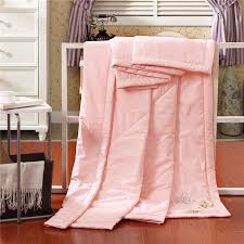 Hot Sale 4 Style Summer Silk Quilt Size King Queen Full Soild ... & Hot Sale 4 Style Summer Silk Quilt Size King Queen Full Soild Adult  Comforter Kids Air Condition Blanket High Quality Home Use-in Quilts from  Home & Garden ... Adamdwight.com