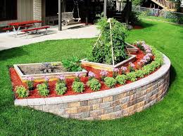 image of retaining wall landscaping ideas