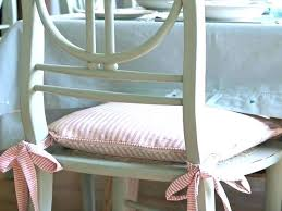 kitchen chair pads with ties attractive club for decorations 7
