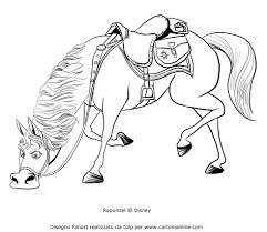 Disegno Di Maximus Che Annusa Alla Ricerca Di Flynn Da Colorare Con