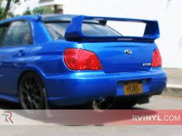 Rtint® Subaru WRX STi 2006-2007 Tail Light Tint|Film