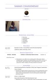 internevening monitor assistant child care program coordinator resume samples child development resume